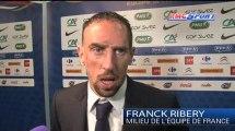 """France - Géorgie / Ribéry: """"La Géorgie, un adversaire pas facile à jouer"""" - 22/03"""