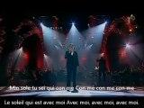 Andrea Bocelli - Con te partiro (Paroles+français)