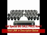 [SPECIAL DISCOUNT] Lorex LH1361001C16B  Eco2 Security Camera System with 16 Super+ Resolution Cameras (Black)