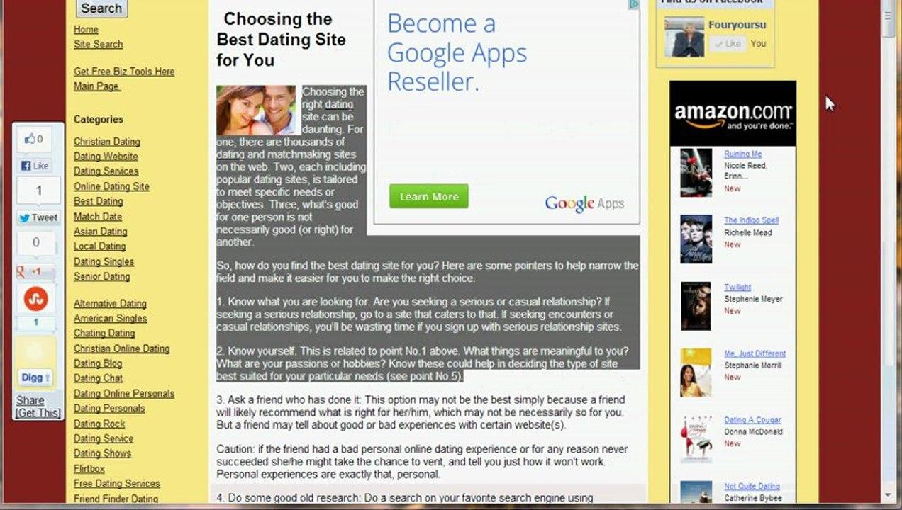 2014 dating websites