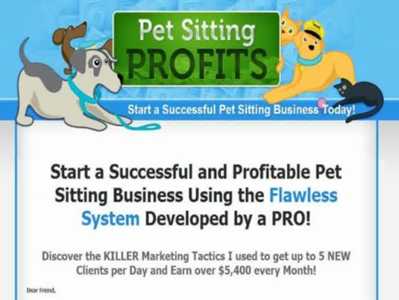 Pet Sitting And Dog Walking Business Start-up Kit