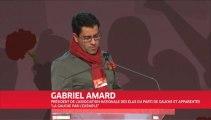 Intervention de Gabriel Amard sur les radicalités concrètes au municipales au congrès du Parti de Gauche le 23 mars 2013 à Bordeaux