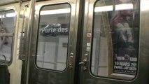 MF67 : Voyage entre les stations Porte des Lilas et Saint Fargeau sur la ligne 3bis du métro parisien