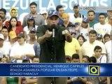 Capriles: Queremos un país donde la justicia funcione para todos