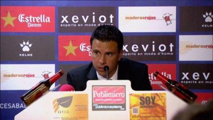rueda de prensa Sergio Lobera Sabadell- Ud  - Vídeos de 2012/2013 de la UD Las Palmas