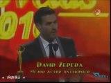 David Zepeda @davidzepeda1 gana Mejor Actor Antagónico - Premios TVyNovelas 2010