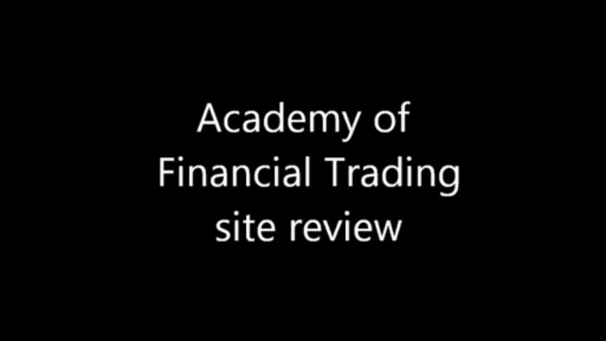 Academy of financial trading – Site review