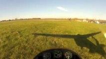 vol d'un planeur K8
