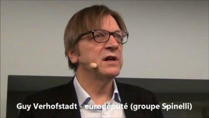 Forum Spinelli: Guy Verhofstadt et le saut fédéral