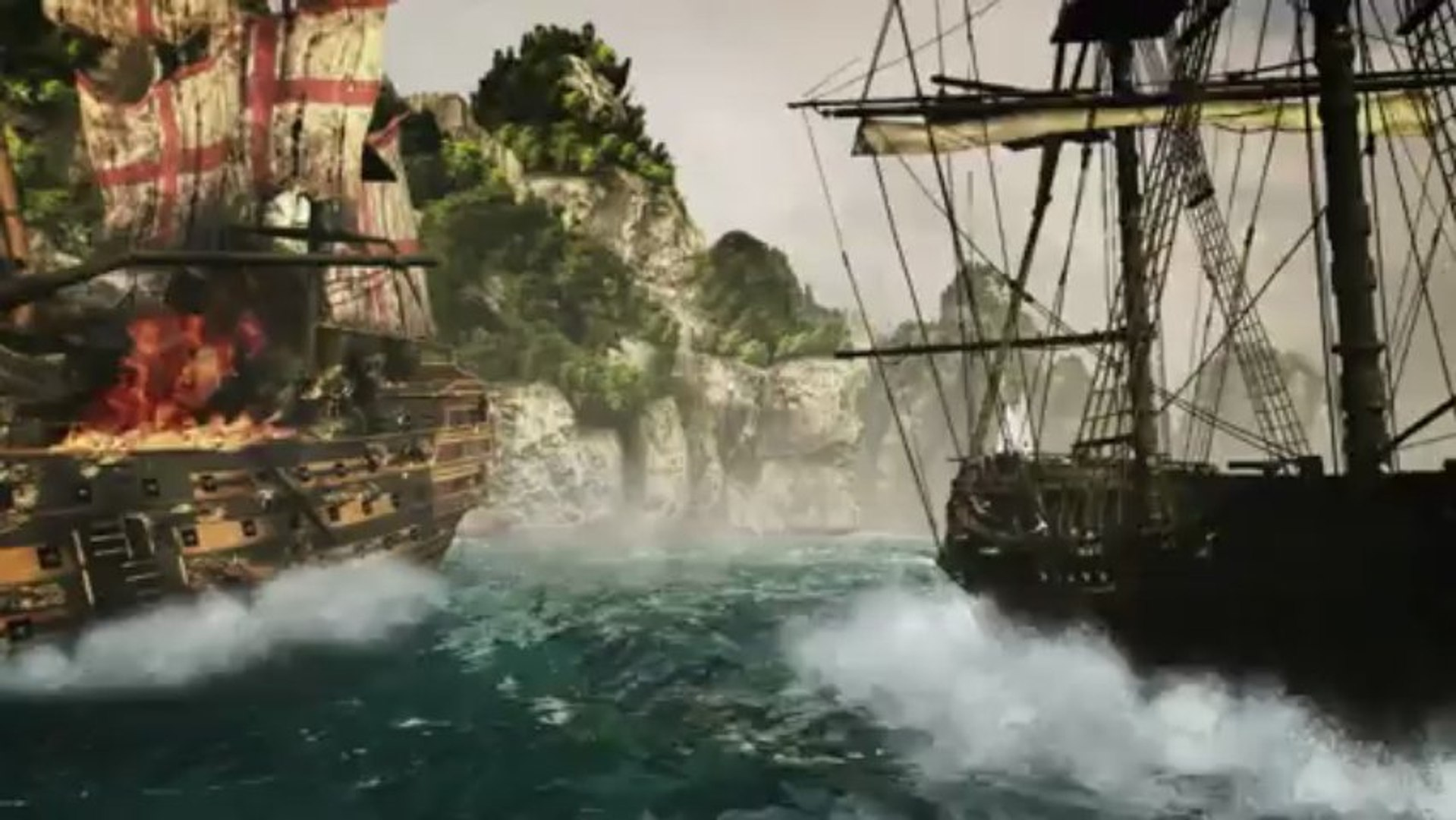 Assassin's Creed IV : Black Flag (PS4) - Assassin's Creed IV: Black Flag trailer gameplay