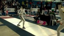 Pentathlon moderne - Isaksen au finish