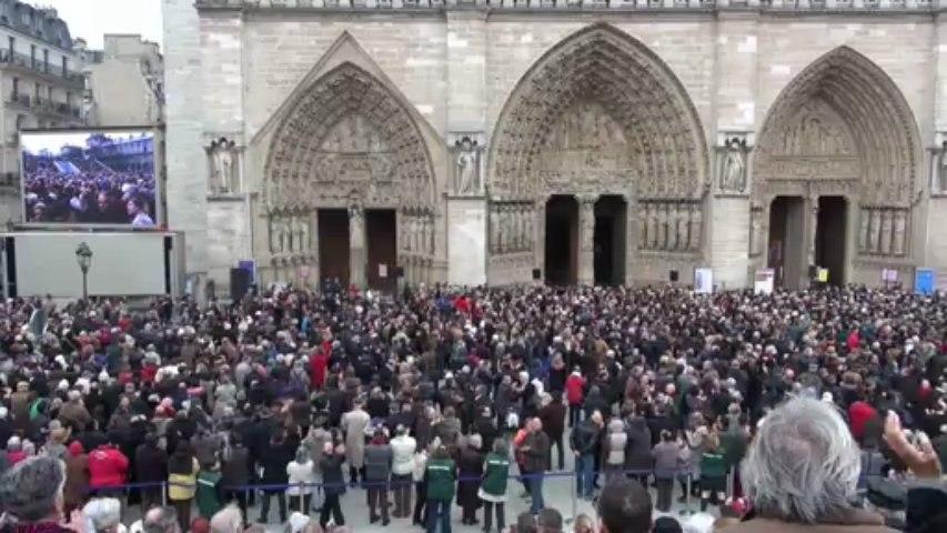 Sonnerie des cloches de Notre Dame de Paris