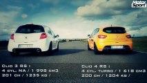Renault Clio 4 RS VS Clio 3 RS