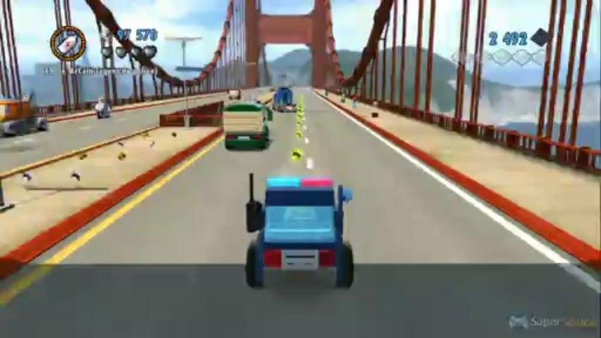 LEGO City Undercover : Gameplay Wii U (Part 3)