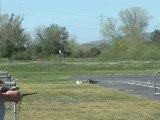 Avion RC Se crash avec un hélicoptère