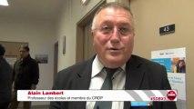Interview d'Alain Lambert, membre du CRDP Aquitaine