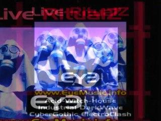 EYE 'Live Ritualz' - Dark-Electronic-Dance-Music Australian WitchHouse EDM Bands Projects