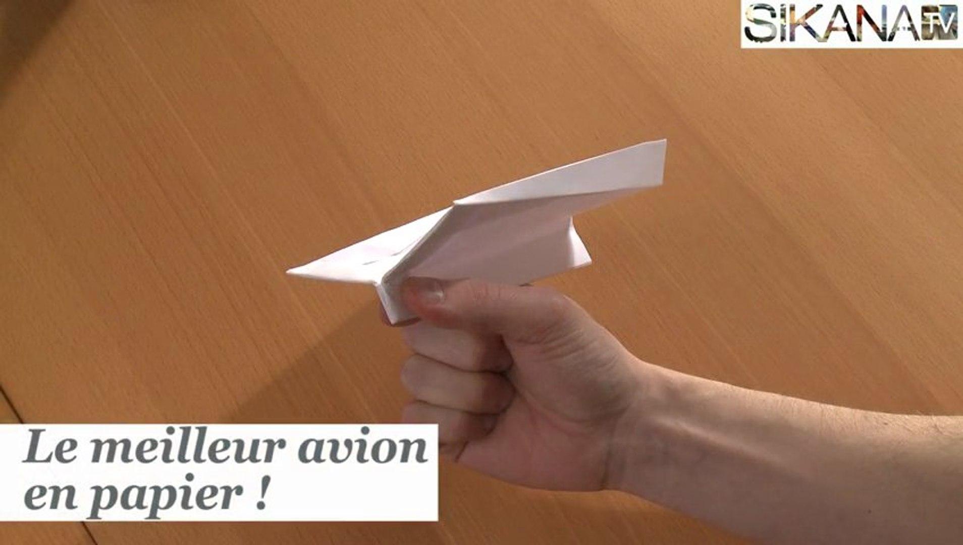 Origami Le Meilleur Avion En Papier Du Monde Hd