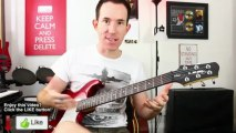 ♫ Guitar Vibrato  Lesson ♫ How To Play Tips String Technique For Beginners Tutorial