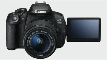 Présentation: Canon EOS 100D et 700D