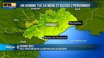 Un fils tue sa mère en pleine rue dans l'Hérault - 29 mars
