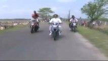 Guinness Record for bike yoga in Assam