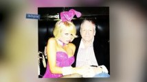 Paris Hilton Dons Sexy Bunny Costume For Easter at the Playboy Mansion