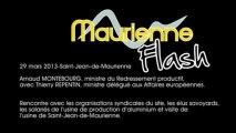 """Maurienne Flash """" spécial Rio Tinto Alcan site de Saint Jean de Maurienne"""""""