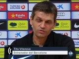 """Vilanova: """"Podríamos hacer un vídeo con las patadas de Pepe"""""""