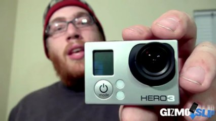 100 FT GoPro Extreme Drop Test - GizmoSlip