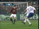 2010 (February 16) AC Milan (Italy) 2-Manchester United (England) 3 (Champions League)