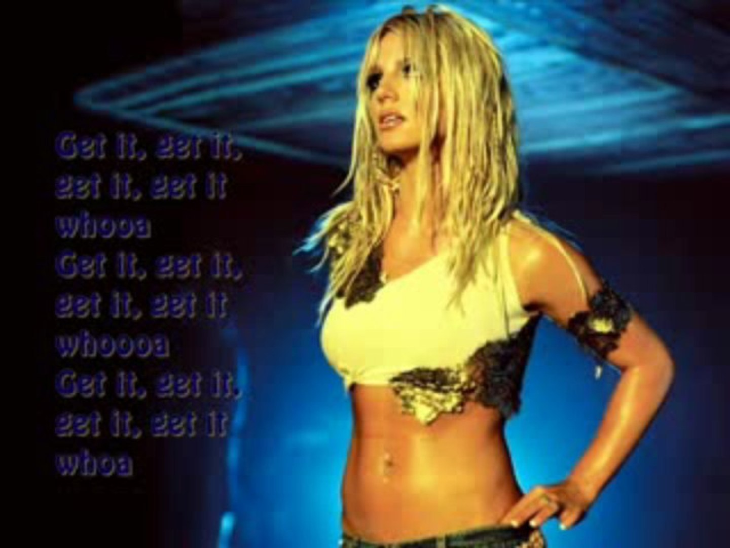 Britney Spears I M A Slave 4 U Instrumental Backing Vocals Lyrics Youtube Video Dailymotion