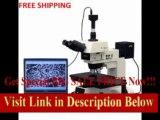 [SPECIAL DISCOUNT] AmScope 50X-750X Darkfield Polarizing Metallurgical Microscope + 9MP Camera