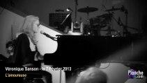 Véronique Sanson chante l'Amoureuse aux répétitions des Victoires de la Musique 2013