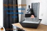 Fontaine interieur zen Bouddha MIZU disponible sur WWW.PING-DECO.FR