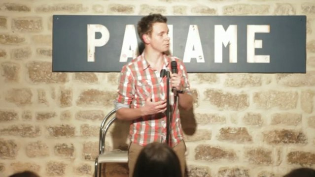 Pierre Gaspard - French Fried Comedy Night (Stand Up Comedy) Going Bald
