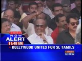 Tamil film industry stages fast over Sri Lankan Tamils issue