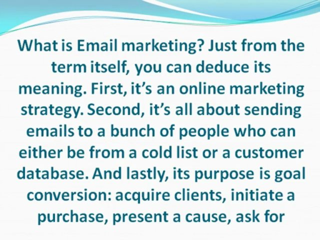 Simple Email Marketing Guidelines