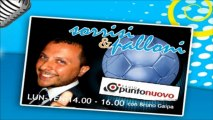 "Soccermagazine, Emanuele Celeste in ""Sorrisi e Palloni"" su Radio Punto Nuovo - 02/04/13"