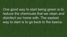 Green Cleaning Ideas For Cleaning Your Green Home
