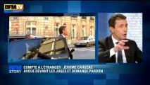 BFM Story: Thierry Arnaud analyse les aveux de Jérôme Cahuzac - 02/04