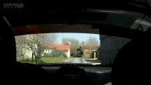 Cam Emb - AQUILINO / LE PAGE  - 207 RC R3T - Rallye de la Fougère 2013 [HD] - By WTRS