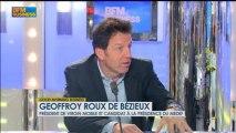 La bataille du Medef : Geoffroy Roux de Bézieux dans Good Morning Business - 3 avril