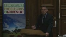 Vincent Peillon : lancement de la concertation pour l'avenir de l'enseignement agricole