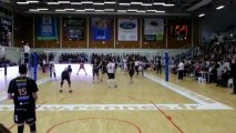 03/04/13 : Rennes Volley - Tours Volley : Point Spectaculaire