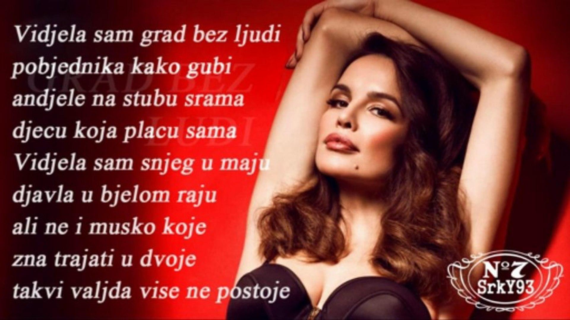 Severina - 2013 - 08 - Grad bez ljudi + Tekst
