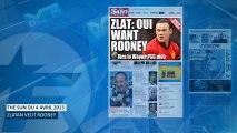 Mercato : Zlatan Ibrahimovic veut Rooney au PSG !