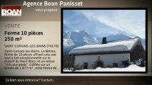 A vendre - Ferme - SAINT-GERVAIS-LES-BAINS (74170) - 10 pièces - 250m²