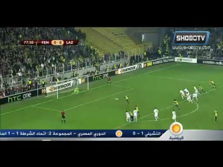 Fenerbahçe 2-0 Lazio ,Europa League (QF)