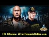 Undertaker vs CM Punk Wrestlemania 29 match